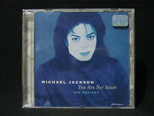 MICHAEL JACKSON You Are Not Alone THE REMIXES CD Single Brazil Rare MJ Megaremix