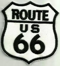 Sew On Patch of Route US 66 with Black Lettering Brand New
