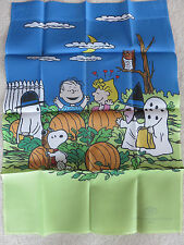 Large Garden Flag Snoopy Peanuts Happy Halloween Outdoor Collectible Flag