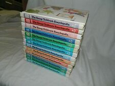 THE YOUNG CHILDREN'S ENCYCLOPEDIA Britannica 1977 13 volumes (1-4, 6-13, 15)