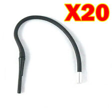 IISXL20 NEW ALIPH JAWBONE 2 3 PRIME III LARGE SLIM EARHOOKS EARHOOK EARLOOP 20PC