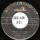 Johnny Nash NORTHERN 45 (ABC 10112) Music Of Love/Let The Rest Of The World  VG+