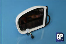 04 MERCEDES W211 E500 #5 DOOR REAR VIEW MIRROR TURN SIGNAL LEFT DRIVER WHITE