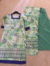 EID Sale Shalwar Kameez Shirt Lawn Indian Pakistan Size Medium 3 Piece