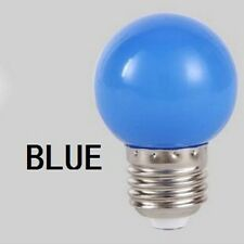 Coloured E27 3W Energy Saving LED Golf Ball Light Bulb Globe Lamp DIY UK Stock