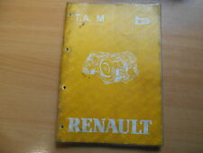 Renault 5 9 11 18 19 20 21 25 Fuego Manuale officina Cambio automatico MB MJ ML