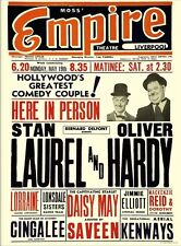 1940s Laurel e Hardy Teatro Stampa/Poster