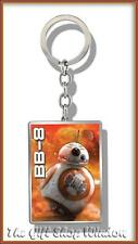 STAR WARS EPISODE 7 BB8 DROID 3D KEYRING GENUINE LUCAS FILM KEYCHAIN VII BB 8