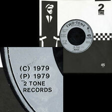 """MADNESS THE PRINCE - RARE 7"""" WITH 2 TONE RECORDS EMBOSSED ON LABELS - SUGGS SKA"""