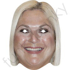 Vanessa Feltz Celebrity Card Mask - All Our Masks Are Pre-Cut!