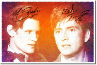 DAVID TENNANT AND MATT SMITH PHOTO PRINT POSTER GIFT
