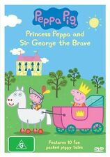 Peppa Pig - Princess Peppa & Sir George The Brave (DVD, 2010)