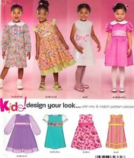 NewLook 6860 - size 3-8  GIRLS party or special occasion DRESSES