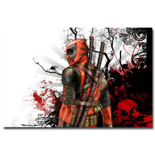 Deadpool USA Superheroes Comic Movie Art Silk Poster 24x36 inch