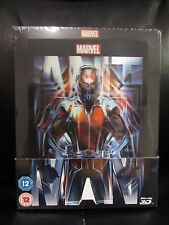 Ant-Man Lenticular Magnet 3D/2D Blu-Ray Steelbook Region Free Marvel Sealed