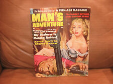 Man's Adventure Magazine Feb 1959, Vol. 2 No. 2