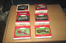 6 Lionel Train Locomotives Hallmark Ornaments 1996-2001
