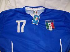 MAGLIA IMMOBILE ITALIA 2 ANNI MONDIALI 2014 REGALO NASCITA MAGLIETTA NEONATO