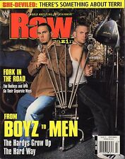 WWE Raw Magazine June 2002 The Hardy Boys, The Dudleys VG 032916DBE