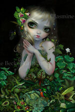 Jasmine Becket-Griffith art print mother nature fairy SIGNED Green Goddess
