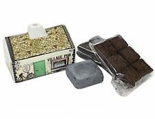 Irish Pub Turf/Peat Incense Burner Set