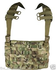 Kombat Small MOLLE chest rig / Tactical Carrier BTP compliments MTP / Multicam