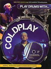 Play Drums With COLDPLAY Learn CLOCKS Music BOOK & CD DRUMMER PRESENT GIFT SONGS