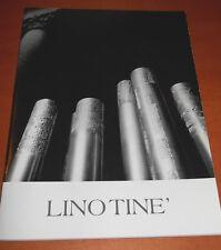 LINO TINé - catalogo mostra 2005