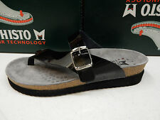 MEPHISTO WOMENS SANDALS HELEN BLACK VERNIS SIZE EU 38 US 8