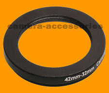 42mm to 32mm 42-32 Stepping Step Down Filter Ring Adapter 42-32mm 42mm-32mm
