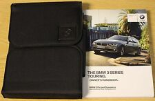 Bmw série 3 touring break handbook idrive owners manual 2012-2015 pack 12217