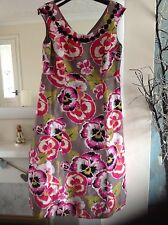 Beautiful Monsoon dress Size 14 LINEN SILK