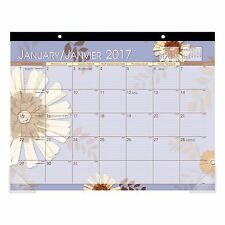 """At-A-Glance 2017 Paper Flowers Desk Pad, 22"""" x 17"""" New!!!"""