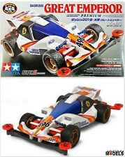 Mini 4wd DASH 001 GREAT EMPEROR Premium (Super 2 Chassis) Tamiya 18075 1/32 New