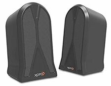 Xpro XP-205 usb 2.0 Laptop/Desktop Speaker  (Black, 2.0 Channel)