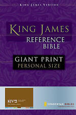 King James Reference Bible: Personal-size, Zondervan Publishing