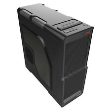 Q7 NEW WAVE ATX MATX COMPUTER CASE PC USB 3.0 READY CON AUDIO FRONTALE & Porte MIC