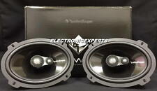 "ROCKFORD FOSGATE POWER T1693 6 x 9"" 3-Way HARLEY Speakers Aluminum Dome Tweeters"
