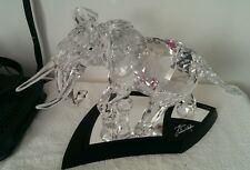 "Swarovski Crystal ""THE ELEPHANT"" 2006 with certificate and original box"