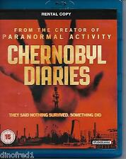 Chernobyl Diaries (Blu-ray, 2012) Rental Copy NEW SEALED