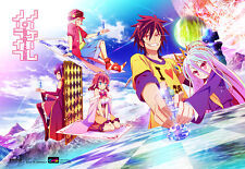 No Game No Life Wall Scroll Poster Officially Licensed CWS-20350  New