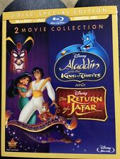 Aladdin King of Thieves (Blu-Ray/DVD) & Return of Jafar (Blu-Ray/DVD) Slipcover