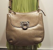 DKNY French grain leather Messenger crossbody bag was $259
