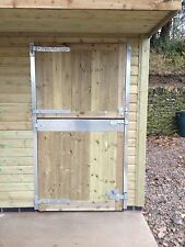 Stable and Barn Doors With Chew Strip And Ironwork Any Size Made