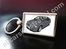 BMW M3 (E46) METAL KEY RING. CHOOSE YOUR CAR COLOUR.