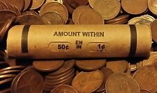 1909 1939 50 cents roll UNSEARCHED (Pre-1940) PDS Lincoln Wheat 1909 VDB Found