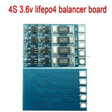 4S 3.6v lifepo4 balncing full charge 18650 lithium battery balance board