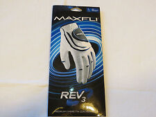 Maxfli Rev 3 youth kids right large L glove golf leather palm MXJRGLVLH **spots