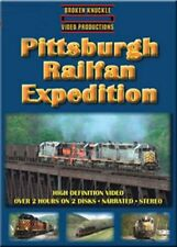 Pittsburgh Railfan Expedition 2 disc DVD NEW Broken Knuckle