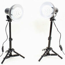 Kit Illuminatore DynaSun 2x PS01 350W Lampada Luce DayLight + Cavalletto Stativo